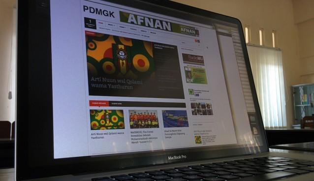 Website Persyarikatan Muhammadiyah